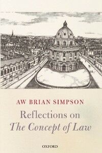 Ebook in inglese Reflections on 'The Concept of Law' Simpson, A. W. Brian