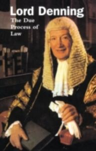 Ebook in inglese Due Process of Law Denning, Alfred