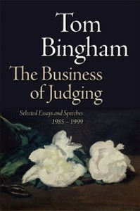 Ebook in inglese Business of Judging: Selected Essays and Speeches: 1985-1999 Bingham, Tom