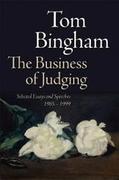 Business of Judging: Selected Essays and Speeches: 1985-1999