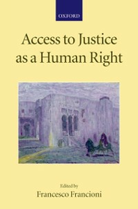 Ebook in inglese Access to Justice as a Human Right -, -