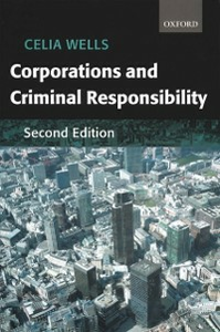 Ebook in inglese Corporations and Criminal Responsibility Wells, Celia