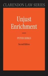 Ebook in inglese Unjust Enrichment Birks, Peter