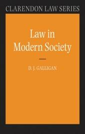 Law in Modern Society