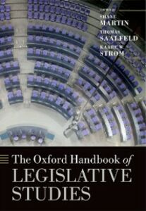 Ebook in inglese Oxford Handbook of Legislative Studies -, -