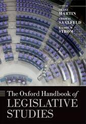 Oxford Handbook of Legislative Studies