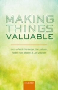Foto Cover di Making Things Valuable, Ebook inglese di  edito da OUP Oxford