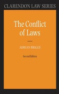 Ebook in inglese Conflict of Laws Briggs, Adrian