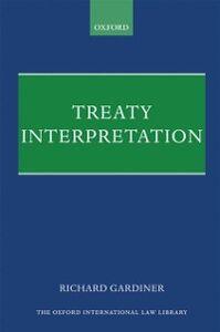 Foto Cover di Treaty Interpretation, Ebook inglese di Richard Gardiner, edito da OUP Oxford