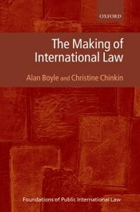 Ebook in inglese Making of International Law Boyle, Alan , Chinkin, Christine