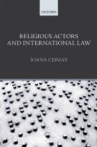Ebook in inglese Religious Actors and International Law Cismas, Ioana