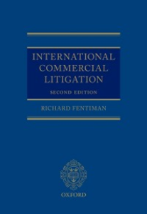Ebook in inglese International Commercial Litigation Fentiman, Richard