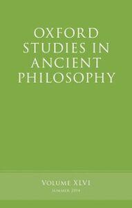 Foto Cover di Oxford Studies in Ancient Philosophy, Volume 46, Ebook inglese di  edito da OUP Oxford