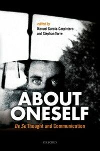 Ebook in inglese About Oneself: De Se Thought and Communication