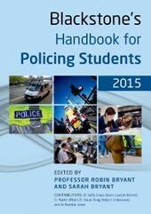 Blackstone's Handbook for Policing Students 2015