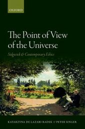 Point of View of the Universe: Sidgwick and Contemporary Ethics