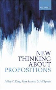 Foto Cover di New Thinking about Propositions, Ebook inglese di AA.VV edito da OUP Oxford