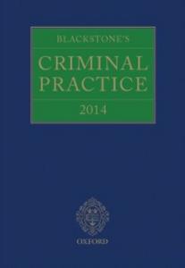 Ebook in inglese Blackstone's Criminal Practice 2014 -, -