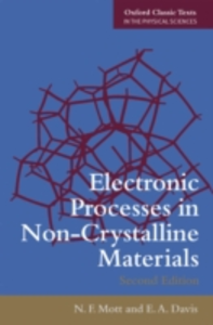 Ebook in inglese Electronic Processes in Non-Crystalline Materials Davis, Edward A , Mott, Nevill Francis