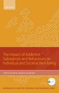 Ebook in inglese Impact of Addictive Substances and Behaviours on Individual and Societal Well-being