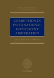 Ebook in inglese Corruption in International Investment Arbitration Llamzon, Aloysius P