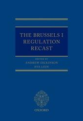 Brussels I Regulation Recast