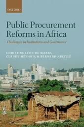 Public Procurement Reforms in Africa: Challenges in Institutions and Governance