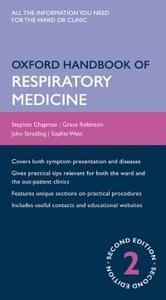 Ebook in inglese Oxford Handbook of Respiratory Medicine Chapman, Stephen , Robinson, Grace , Stradling, John , West, Sophie