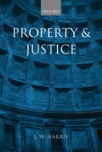 Foto Cover di Property and Justice, Ebook inglese di J. W. Harris, edito da OUP Oxford