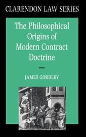 Philosophical Origins of Modern Contract Doctrine