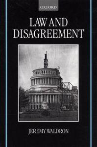 Foto Cover di Law and Disagreement, Ebook inglese di Jeremy Waldron, edito da Clarendon Press