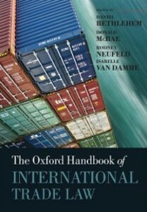 Ebook in inglese Oxford Handbook of International Trade Law