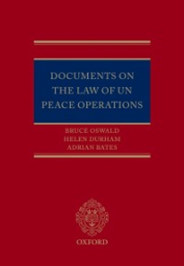 Ebook in inglese Documents on the Law of UN Peace Operations Bates, Adrian , Durham, Helen , Oswald, Bruce