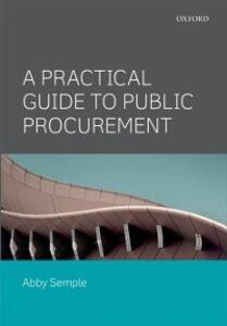 Foto Cover di Practical Guide to Public Procurement, Ebook inglese di Abby Semple, edito da OUP Oxford