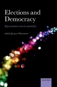 Ebook in inglese Elections and Democracy: Representation and Accountability -, -