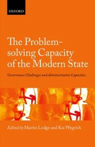 Foto Cover di Problem-solving Capacity of the Modern State: Governance Challenges and Administrative Capacities, Ebook inglese di  edito da OUP Oxford