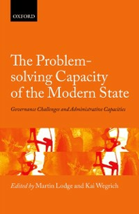 Ebook in inglese Problem-solving Capacity of the Modern State: Governance Challenges and Administrative Capacities -, -