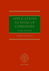 Applications to Wind Up Companies
