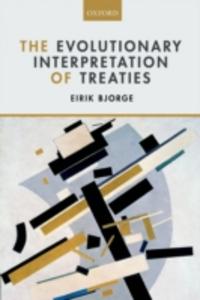 Ebook in inglese Evolutionary Interpretation of Treaties Bjorge, Eirik
