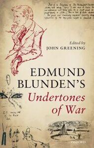 Ebook in inglese Undertones of War Blunden, Edmund