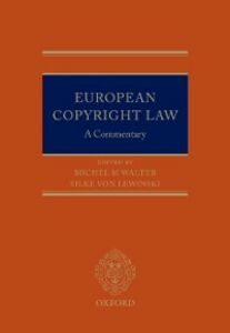 Ebook in inglese European Copyright Law: A Commentary -, -