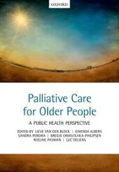 Palliative care for older people: A public health perspective