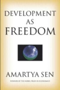 Ebook in inglese Development as Freedom Sen, Amartya