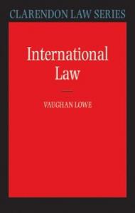 Ebook in inglese International Law Lowe, Vaughan