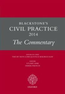 Ebook in inglese Blackstone's Civil Practice 2014: The Commentary -, -