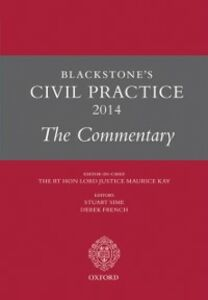 Foto Cover di Blackstone's Civil Practice 2014: The Commentary, Ebook inglese di  edito da OUP Oxford