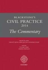 Blackstone's Civil Practice 2014: The Commentary