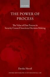 Power of Process: The Value of Due Process in Security Council Sanctions Decision-Making