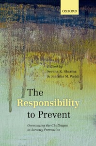 Ebook in inglese Responsibility to Prevent: Overcoming the Challenges of Atrocity Prevention -, -