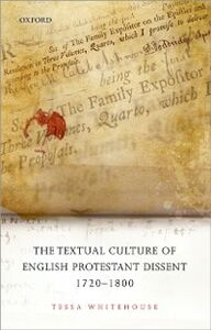 Ebook in inglese Textual Culture of English Protestant Dissent 1720-1800 Whitehouse, Tessa